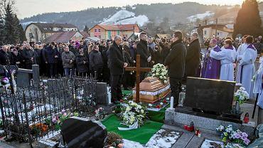 Pogrzeb Jana Kuciaka, Staivnik, 3 marca 2018 r.