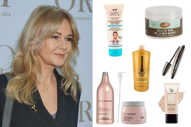 Kolaż, kosmetyki dla dojrzałych kobiet/Materiały partnera