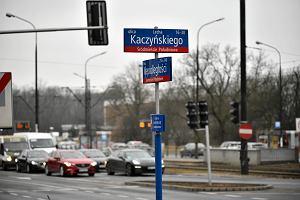 Tablica z nazwą ulicy Lecha Kaczyńskiego trafi na aukcję WOŚP? Ratusz nie mówi nie