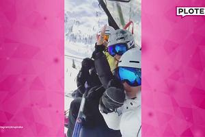 Krupińska wybrała się na narty. Towarzyszy jej ktoś, kogo doskonale znacie. Nie wiedzieliśmy, że się przyjaźnią