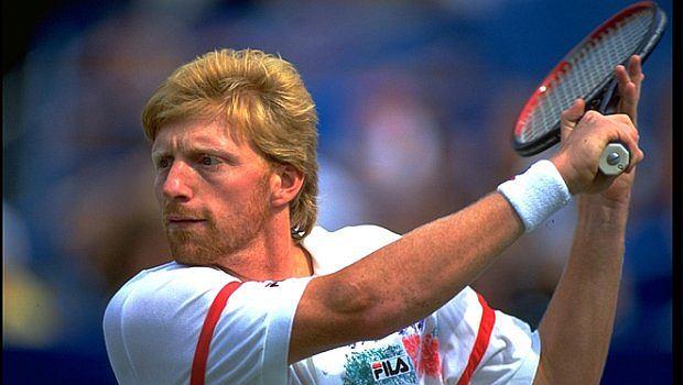 Boris Becker - najmłodszym triumfator turnieju wielkoszlemowego i pierwszy niemiecki mistrzem Wimbledonu
