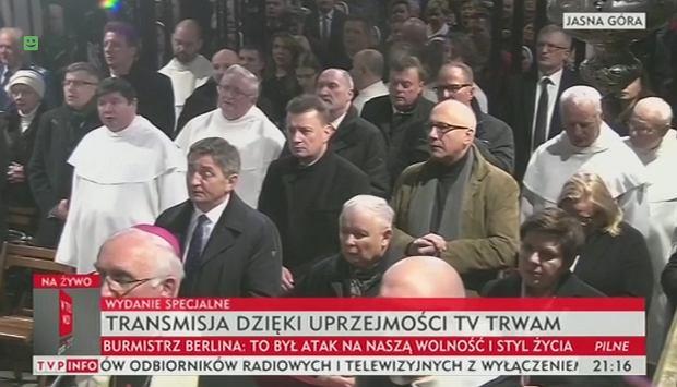 """Wierchuszka PiS na Jasnej Górze. Modliła się """"w intencji sytuacji politycznej w Polsce"""""""