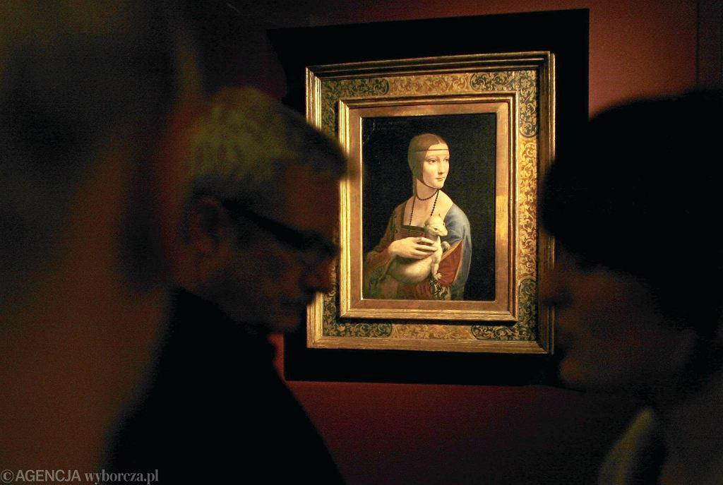 'Dama z gronostajem' Leonarda da Vinci w Zamku Królewskim