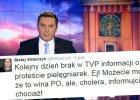 """Dziennikarz skrytykowa� """"Wiadomo�ci"""" za pomini�cie protestu piel�gniarek. Odpowiedziano mu kpin�"""