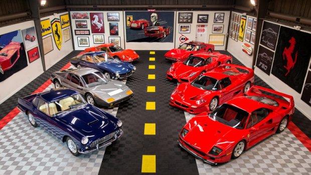 Kolekcja Ferrari Wszystko O Samochodach I Motoryzacji Motopl