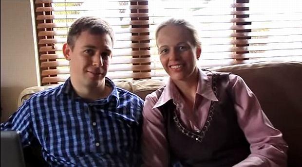 Martin i Joanna Pistoriusowie. Kadr z filmu: