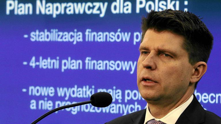 Petru przedstawia plan dla Polski