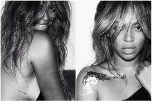 """Beyonce zaprojektowa�a kolekcj� tymczasowych tatua�y! Przykleisz na siebie napis """"flawless""""?"""