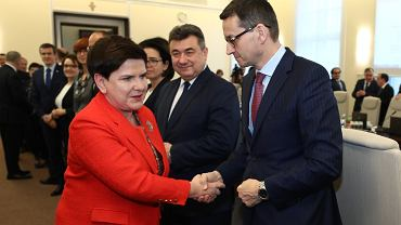 5 grudnia. Ostatnie posiedzenie rządu z Beatą Szydło jako premierem