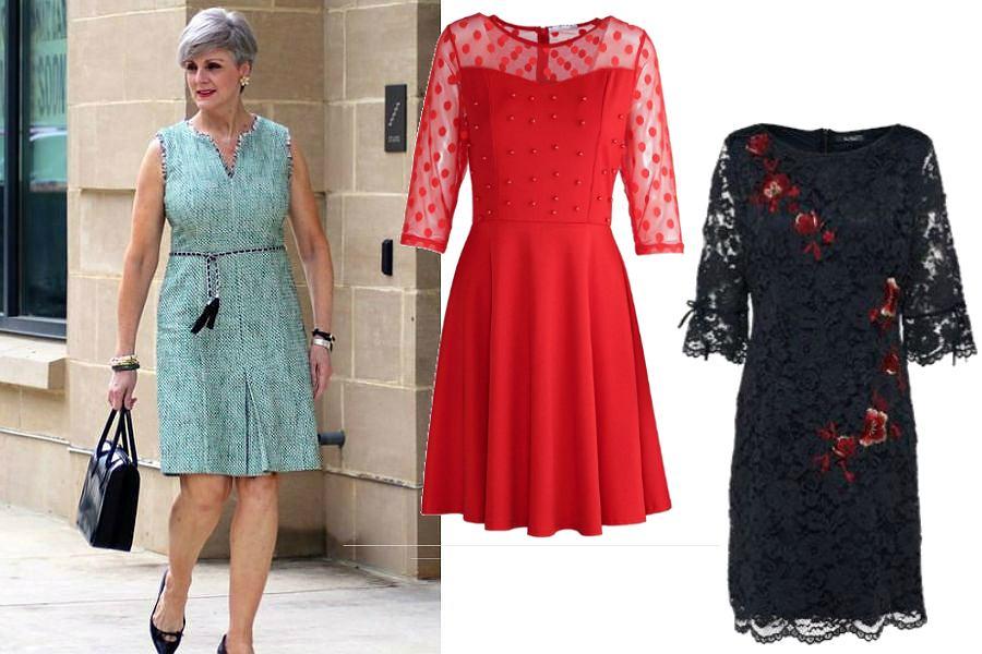 Koronkowe sukienki dla dojrzałych kobiet