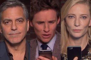 George Clooney, Eddie Redmayne, Cate Blanchett