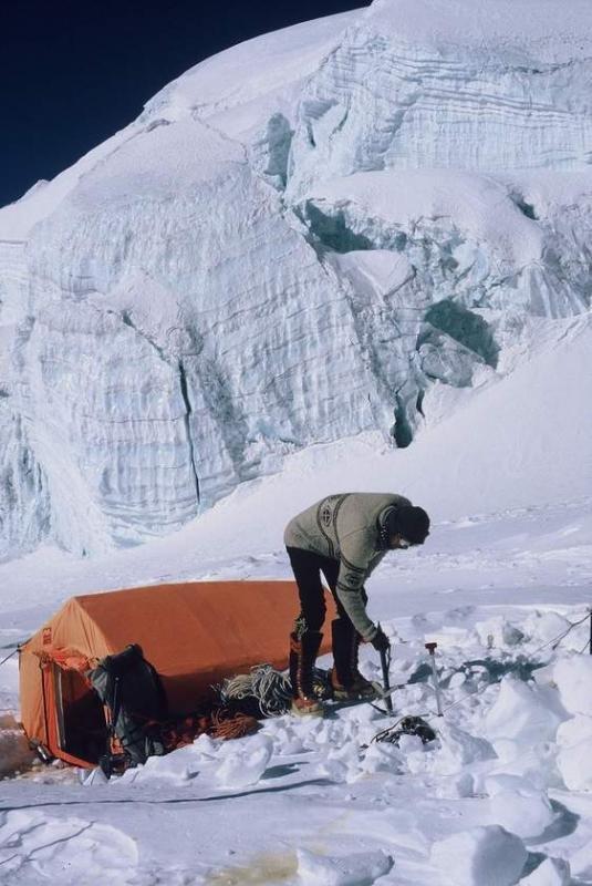 Słynny namiot RD 2 konstrukcji Ryszarda Dmocha (fot. archiwum Ryszarda Gajewskiego)