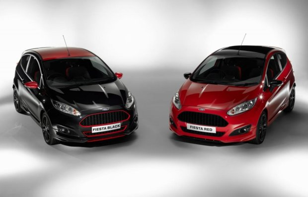 Ford Fiesta Black i Red Edition | Mocne kolory