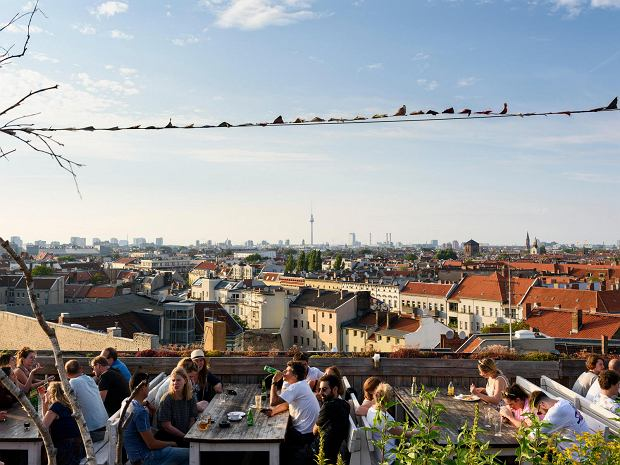 Widok na Berlin z Klunkerkranich