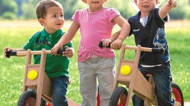 """Rowerki biegowe pozwalają dziecku szybko stać się samodzielnym """"kierowcą"""""""
