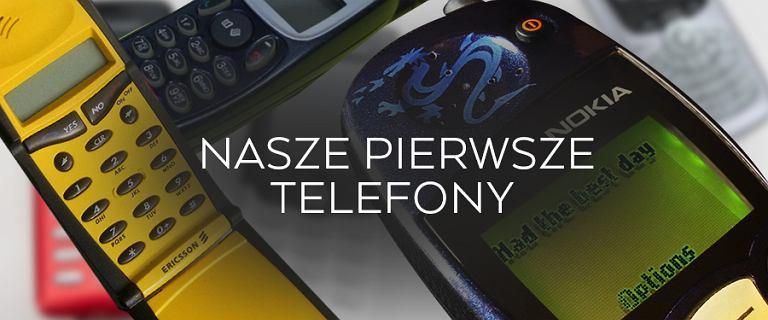 Nasze pierwsze telefony kom�rkowe