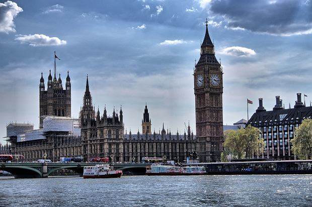 Big Ben i gmachy Parlamentu - Londyn
