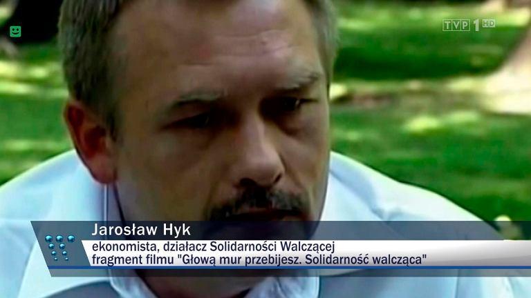 Jarosław Hyk w materiale