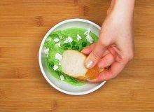 Pasta z zielonego groszku i fety - ugotuj