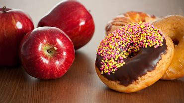 Zmiana diety na zdrowszą, dostarczającą więcej energii do działania