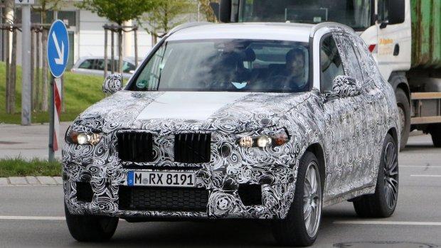 Prototypy   BMW X3 M ju� na drogach
