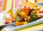Sałatka owocowa z krewetkami - Zdjęcia