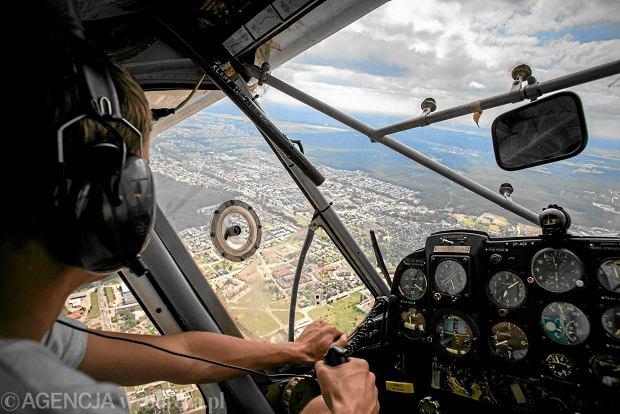 Polacy pilotuj� coraz wi�cej. Ale tylko najbogatsi