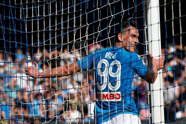 Zdjęcie numer 1 w galerii - Włoskie media: Arkadiusz Milik wyjdzie w podstawowym składzie na Udinese