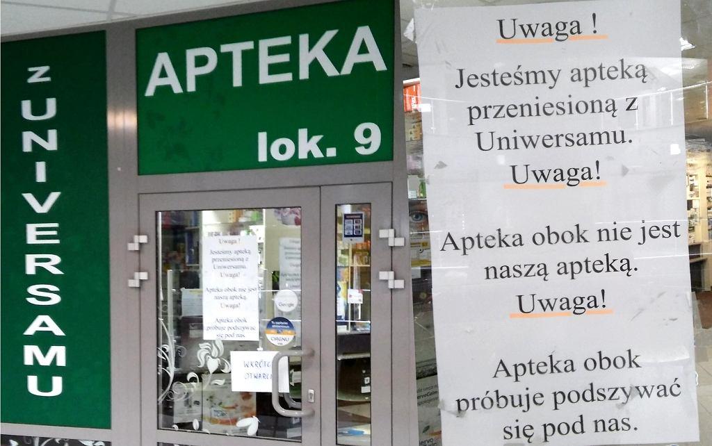 Konflikt między aptekami