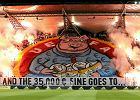 UEFA znów karze Legię. Zamknięta trybuna i 50 tys. euro za nielegalne race i oprawę