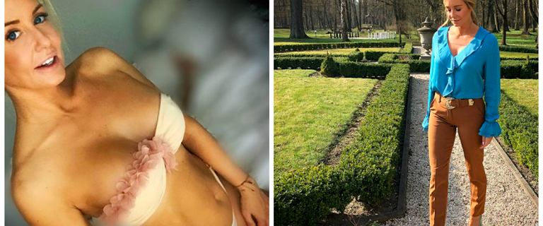 Małgorzata Rozenek w seksownej stylizacji znów przesadziła. Prawdziwa dama - szydzą fani