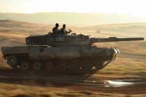 """Czołgi NATO bez problemu wytrzymałyby starcie z rosyjskimi. Wojska pancerne znów w cenie [CYKL """"WYBORCZEJ"""" - cz. 1]"""