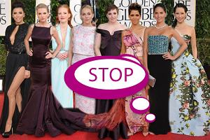 Z�ote Globy 2013 - zobacz najgorsze stylizacje gwiazd
