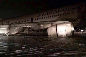 Ludzkie szcz�tki wypad�y z samolotu w Arabii Saudyjskiej
