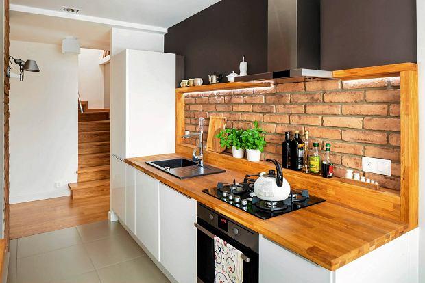Pomys�y na ceg�� w kuchni