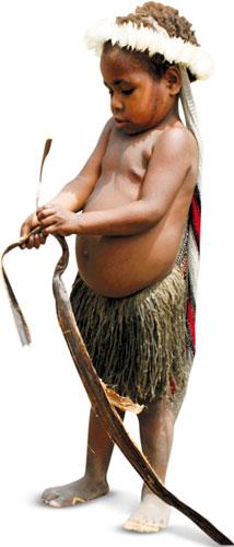 podróże, Podróże: świński festiwal w Papui, Papuasi niechętnie oddają dzieci do szkół
