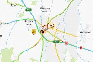 Du�y wypadek na drodze do Poznania. A� 12 os�b rannych