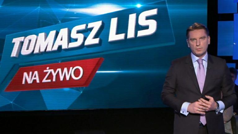 Tomasz Lis na żywo