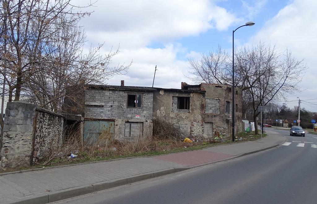 Ruina przy ulicy Kombajnistów
