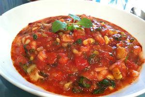 Niskokaloryczne gazpacho - świetny posiłek po treningu!