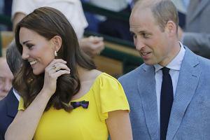 Księżna Kate i książę William; Wimbledon 2018