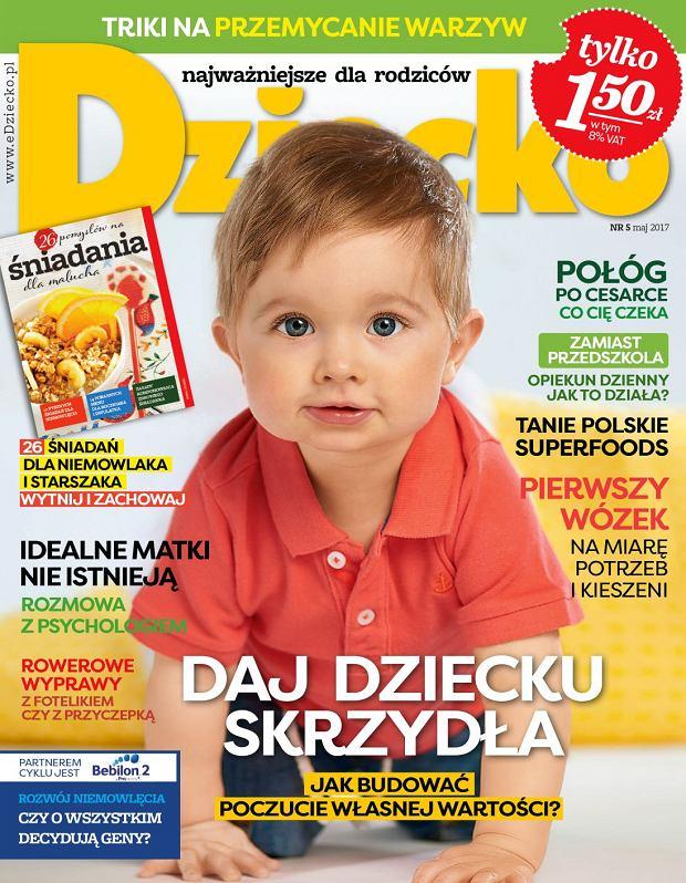 """Nowy numer miesięcznika """"Dziecko"""" w kioskach od 6 kwietnia"""