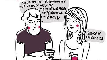 Rys. Magda Danaj - walentynki