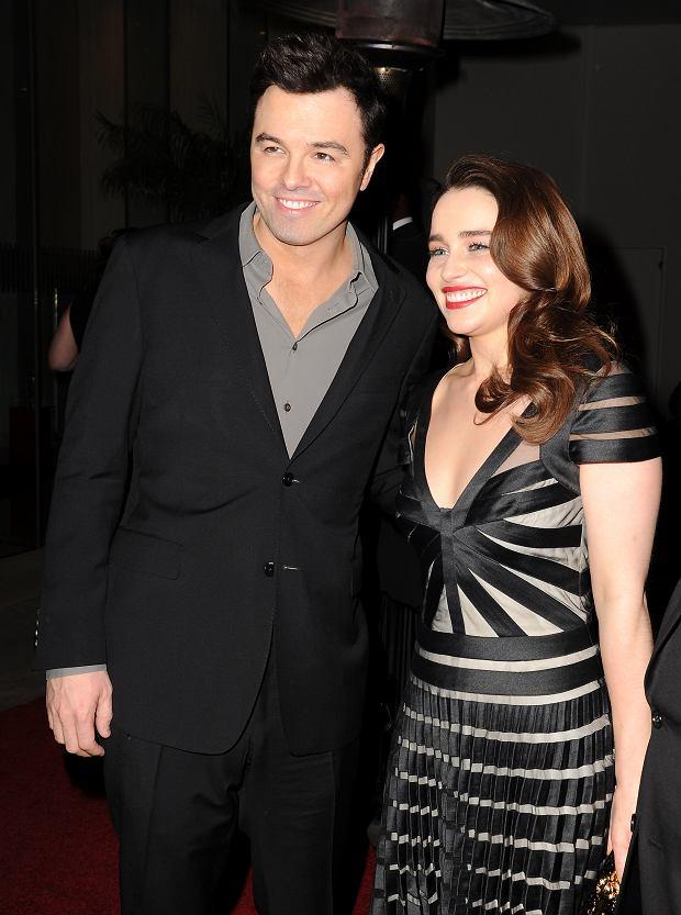 Emilia Clarke, Seth MacFarlane