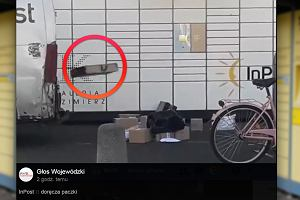 Pracownik InPostu nagrany jak rzuca paczkami. Stracił pracę. Spółka przeprasza i nie wyklucza odszkodowań