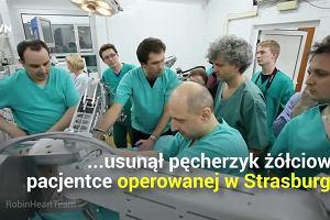 Czy roboty medyczne zastąpią chirurgów? Nad jednym z projektów pracował profesor Religa