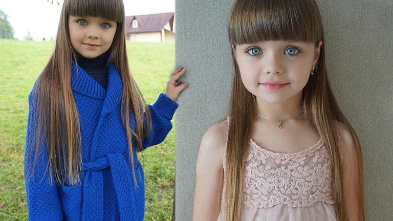 6-latka została okrzyknięta najpiękniejszą dziewczynką świata.