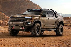 Chevrolet Colorado XH2 | Wodorowe auto dla armii
