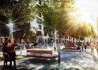 Na Służewcu powstanie nowy miejski skwer. Będą ławki i drzewa