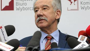 Szef PKW Wojciech Hermeliński